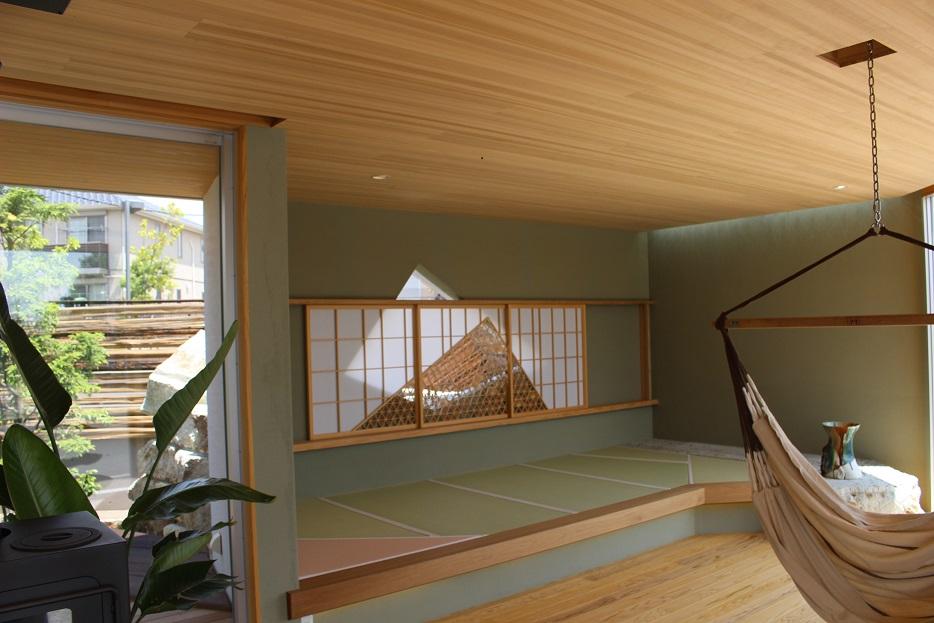 こちらは天井材の使用例です